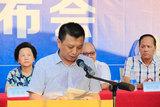 广东省电气商会会长 李季鸿先生在诚信经营新闻发布会上发言